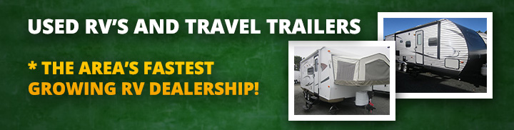 Used RV's and Travel Trailers
