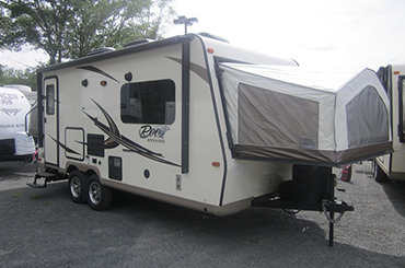 New Expandable Trailer - 2017 Forest River Rockwood Roo 21DK